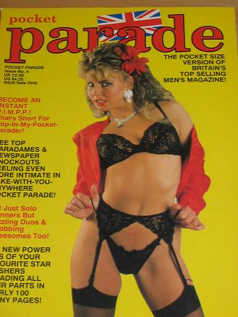 POCKET PARADE MAGAZINE NUMBER 5 ISSUE FOR SALE 1990 VINTAGE ADULT MENS GLAMOUR PUBLICATION CLASSIC I