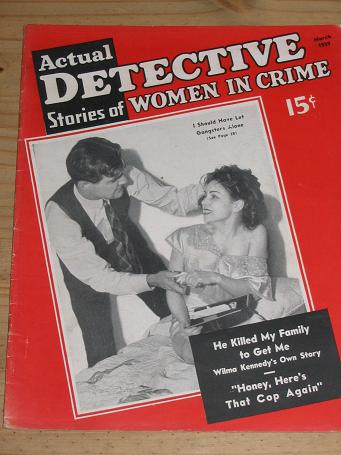 Tilleys Vintage Magazines : ACTUAL DETECTIVE STORIES OF