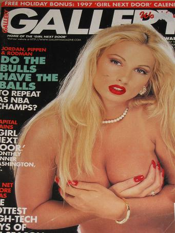 GALLERY magazine, Holiday 1996 issue for sale. ADULT, MENS, GLAMOUR publication. Classic images of t