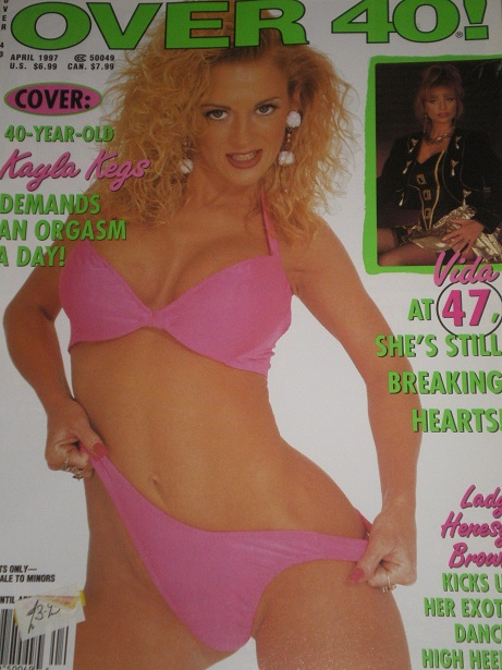 Tilleys Vintage Magazines : OVER 40 magazine, April 1997
