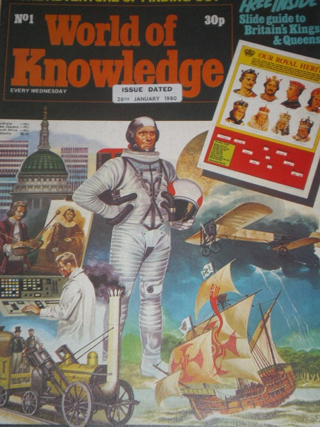 world of knowledge 26 january 1980 issue for sale original british juvenile publication from till