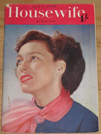 Tilleys Vintage Magazines : HOUSEWIFE MAGAZINE MARCH 1950