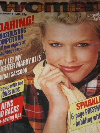 Tilleys vintage magazines woman magazine december 8 1984 issue for.