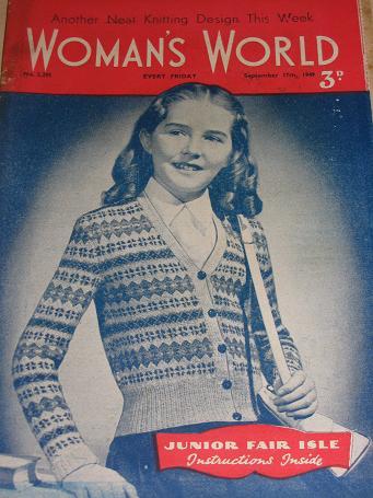 Tilleys Vintage Magazines Womans World Magazine September 17 1949