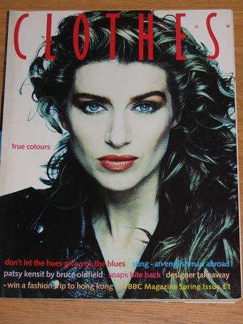 First issue CLOTHES SHOW magazine, Spring 1988. Vintage womens
