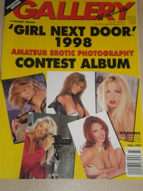 GALLERY magazine, FALL 1997 issue for sale. Original ADULT publication from www.TilleysVintageMagazi