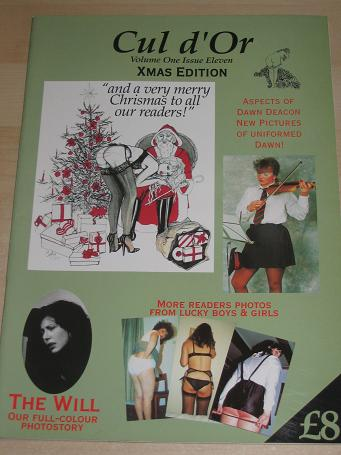 Cul d Or magazine 1989, Volume 1 Number 11. Vintage Spanking, C.P. publication for sale. Classic ima