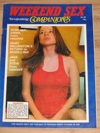 Weekend Sex Magazine Number 34 Issue Vintage Adult Mens Glamour Publication For Sale Classic Images