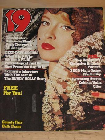 Tilleys Vintage Magazines : 19 MAGAZINE NOVEMBER 1978 BACK ISSUE FOR