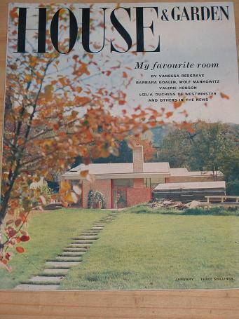 Tilleys vintage magazines house and garden magazine for Garden design back issues