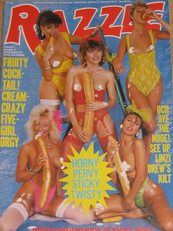 adult magazine Razzle