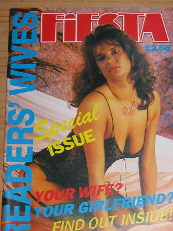 FIESTA MAGAZINE READERS WIVES SPECIAL 1988 VINTAGE ADULT MENS GLAMOUR PUBLICATION FOR SALE CLASSIC I