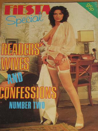 FIESTA READERS WIVES MAGAZINE NUMBER 2 ISSUE FOR SALE 1980s VINTAGE ADULT MENS GLAMOUR PUBLICATION C