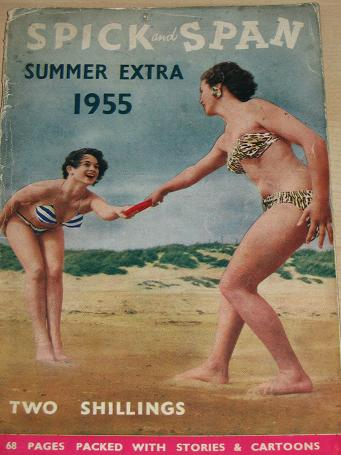 SPICK AND SPAN magazine, SUMMER EXTRA 1955 issue for sale.