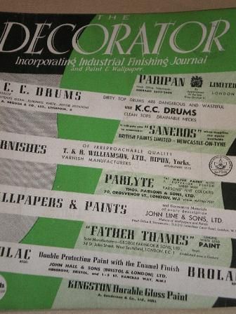 The Decorator Magazine March 1947 Issue For Painting And Decorating Design