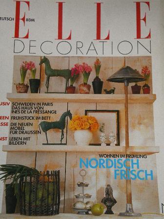 Tilleys Vintage Magazines Elle Decoration Magazine May