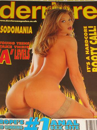 DERRIERE magazine, Number 75 issue for sale. ADULT, GLAMOUR publication. Classic images of the twent