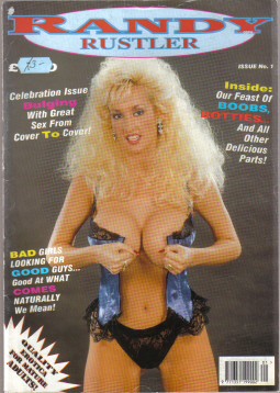 RANDY RUSTLER MAGAZINE NUMBER 1 VINTAGE COLLECTABLE BACK ISSUE MENS GLAMOUR GIRLY PUBLICATION FOR SA