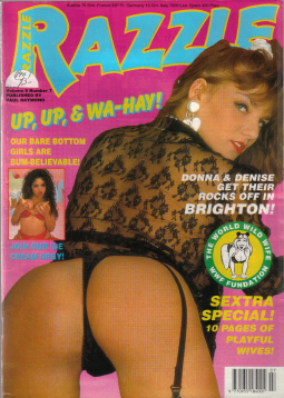 Razzle 9 7 Vintage Glamour Collectable Paul Raymond Back Issue Mens Girly Magazine For Sale