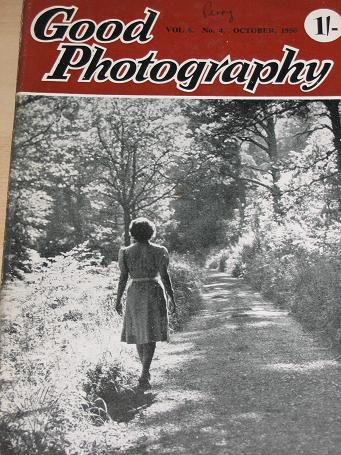 GOOD PHOTOGRAPHY magazine, October 1950 issue for sale. Vintage PHOTO, CAMERA publication. Classic i