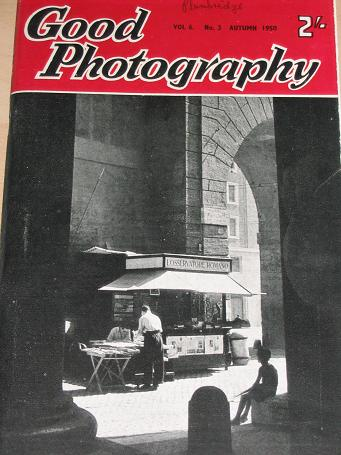 GOOD PHOTOGRAPHY magazine, Autumn 1950 issue for sale. Vintage PHOTO, CAMERA publication. Classic im