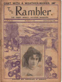THE RAMBLER magazine, August 6 1898 issue for sale. SMUGGLING, YACHTS, SISLEY, COLLINSON, YARMOUTH.