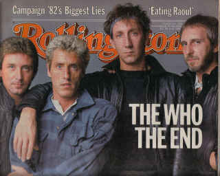 ROLLING STONE MAG NOV 11 1982 THE WHO GAY WOMEN HERZOG TBONE BURNETT