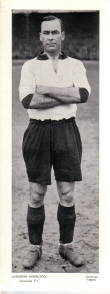 LIVERPOOL FC G HODGSON TOPICAL TIMES 1930S ORIG FOOTBALLERS CARD