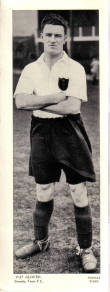 GRIMSBY FC PAT GLOVER TOPICAL TIMES 1930S ORIG FOOTBALLERS CARD