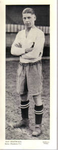 BOLTON FC RAY WESTWOOD TOPICAL TIMES 1930S ORIG FOOTBALLERS CARD