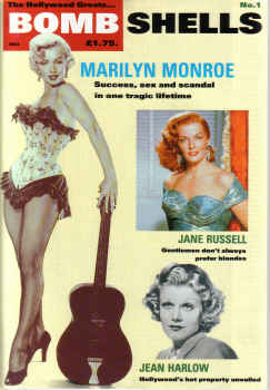 BOMBSHELLS N0 1 1989 MONROE RUSSELL HARLOW HOLLYWOOD GREATS