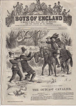 BOYS OF ENGLAND FEB 26 1892 BLACK DWARF SCHOOL HAUNTED