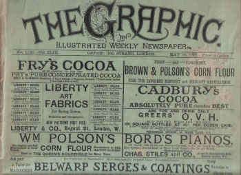 THE GRAPHIC, May 16 1891 issue for sale. BOERS, BLAVATSKY, BESANT, HORSE SHOW. The past in print, pr