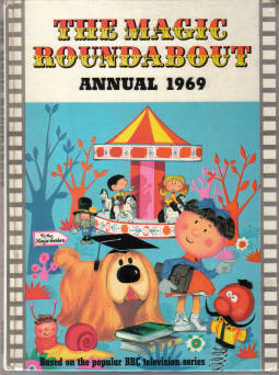 MAGIC ROUNDABOUT ANNUAL 1969 BBC FERSEN DANOT CARRUTH