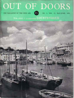 1950 MAG FOR THE COUNTRYGOER OUT OF DOORS PENNINES CHILTERNS INNS MEVAGISSEY
