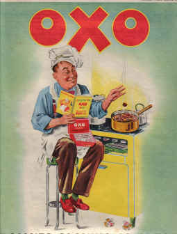 ORIG 1952 OXO MAG AD MAKES COOKING SO EASY