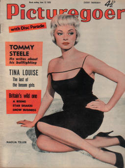 PICTUREGOER JUN 13 1959 HORTON TILLER TWITTY TAYLOR