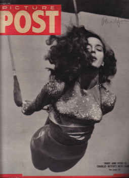 PICTURE POST MAG JAN 16 1943 MARY ANN HYDE WW2