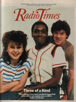 RADIO TIMES NOV 27 TO DEC 3 1982 ULLMAN HENRY COPPERFIELD THREE OF A KIND