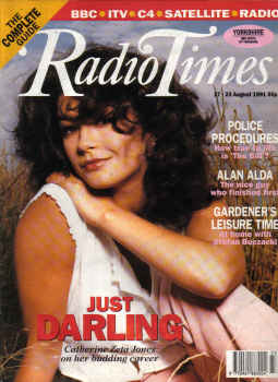 RADIO TIMES MAG AUG 17 TO 23 1991 ALAN ALDA THE BI