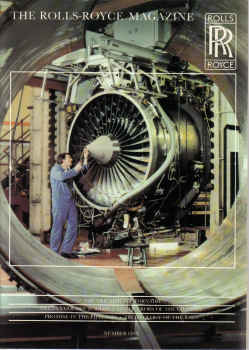 ISSUE 1 ROLLS-ROYCE MAGAZINE 1979 RB 211-535C TORNADO