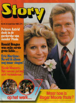 STORY MAG 1981 ROGER MOORE 007 SCARCE