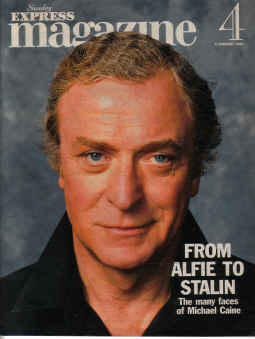 SUNDAY EXPRESS MAG FEB 6 1994 MICHAEL CAINE