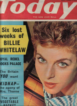 BILLIE WHITELAW TODAY MAY 20 1961 ELLESTON TREVOR