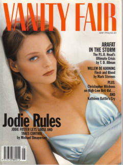 VANITY FAIR MAY 1994 JODIE FOSTER JERRY SEINFELD