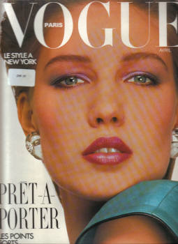 VOGUE PARIS AP 1985 No.655 NEW YORK VINTAGE FASHION