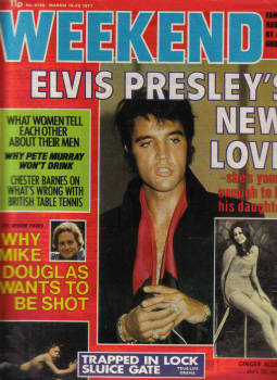 WEEKEND MAR 16-22 1977 ELVIS PRESLEY DOUGLAS